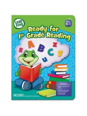 The Board Dudes Leap Frog First-grade Reading Workbook Education Printed Book - Book