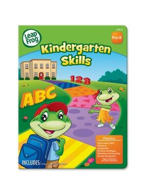 The Board Dudes Kindergarten Skills Activity Workbook Activity Printed Book - Book