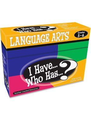 Teacher Created Resources 5&6 I Have Language Arts Game - Educational