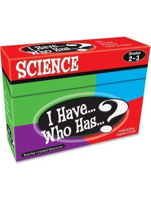 Teacher Created Resources Gr 2-3 I Have Science Game - Educational
