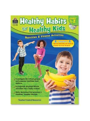Teacher Created Resources Grade 1-2 Healthy Habits WorkBook Education Printed/Electronic Book - Book, CD-ROM - 96 Pages