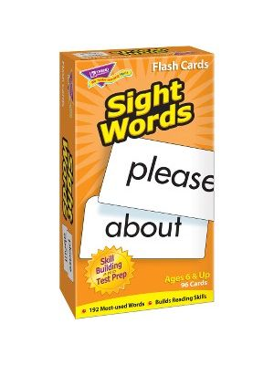 Trend Sight Words Skill Drill Flash Cards - Educational