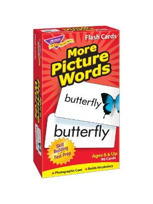 Trend More Picture Words Skill Drill Flash Cards - Educational