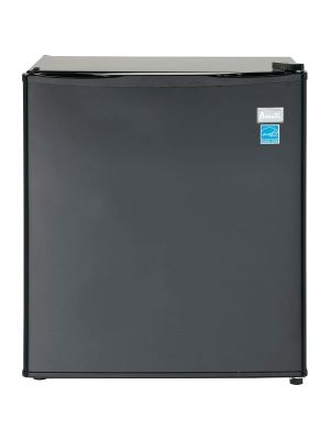 Avanti AR17T1B Refrigerator - 1.70 ft³ - Auto-defrost - Reversible - 1.70 ft³ Net Refrigerator Capacity - Black - Wire Shelf