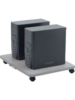 Anthro CPU Roll Out Shelf - 240 lb Capacity - 4 Casters - 2