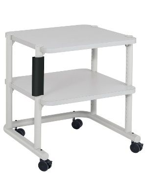 Anthro Equipment Cart - 2 Shelf - 150 lb Capacity - 4 Casters - 2.38