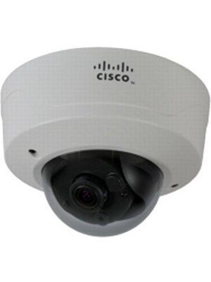 Cisco 2.1 Megapixel Network Camera - Color, Monochrome - H.264, Motion JPEG - 1920 x 1080 - 3 mm - 9 mm - 3x Optical - CMOS - Cable - Dome