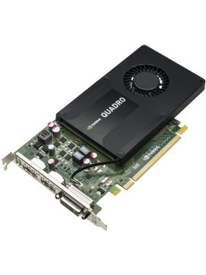 HP Quadro K2200 Graphic Card - 4 GB GDDR5 - Single Slot Space Required - 128 bit Bus Width - Fan Cooler - OpenGL 4.4, DirectX 11.1 - 2 x DisplayPort - 0 - 0DVI (1 x DVI-I) - Linux, PC - 3 x Monitors Supported - Dual Link DVI Supported