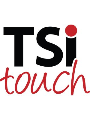 TSItouch Touchscreen Overlay - LCD Display Type Supported - 40