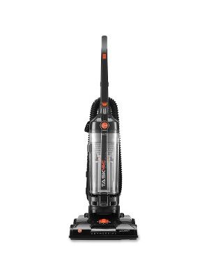 Hoover TaskVac Commercial Bagless Upright Vacuum - Bagless - Brushroll, Hose, Dirt Cup, Filter, Dusting Brush, Wand, Crevice Tool, Upholstery Tool, Brush - 14