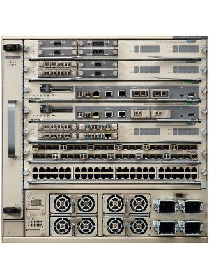 Cisco Catalyst 6807-XL 7-Slot Chassis, 10RU - 7 Expansion Slot - 2 Layer Supported - 10U High - Rack-mountable