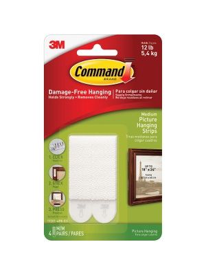 Command™ Medium Picture Hanging Strips - 0.63