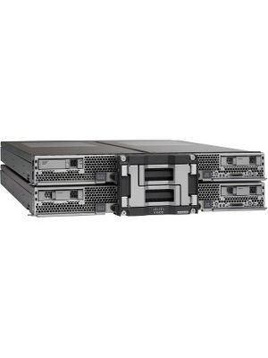 Cisco Barebone System Blade - Intel C602J Chipset - Socket R LGA-2011 - 4 x Processor Support - 6 TB DDR3 SDRAM DDR3-1600/PC3-12800 Maximum RAM Support - 12Gb/s SAS RAID Supported Controller - Matrox G200e 512 MB Integrated - 4 x Total Bays - 4 2.5