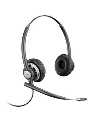 Plantronics EncorePro 700 Digital Series Customer Service Headset - Stereo - Wired - Over-the-head - Binaural - Supra-aural - Noise Canceling
