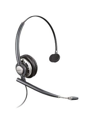 Plantronics EncorePro 700 Digital Series Customer Service Headset - Mono - USB - Wired - Over-the-head - Monaural - Supra-aural - Noise Canceling