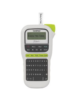 Brother P-Touch 110 Handheld Label Maker - Thermal Transfer - 0.79 in/s Mono - 3 Fonts - 180 dpi - Tape, Label - 0.14