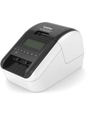 Brother QL-820NWB Label Printer - Direct Thermal - Monochrome - Brother QL-820NWB Label Printer - Direct Thermal - Monochrome prints amazing Black/Red labels using DK-2251. Easy to read Backlit Monochrome LCD screen allows for standalone use. Ultra-fast,