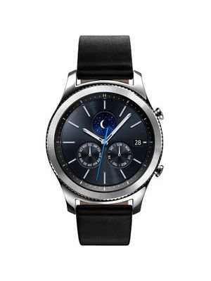 Samsung Gear S3 classic Smart Watch - Wrist - Accelerometer, Barometer, Gyro Sensor, Heart Rate Monitor, Ambient Light Sensor, Altimeter - Text Messaging, Email - Heart Rate, Sleep Quality, Speed, Steps Taken - Samsung Exynos 7270 1 GHz Dual-core (2 Core
