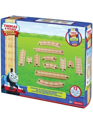 Thomas & Friends Straigh/Curved Expansion Pack - Accessory For Train