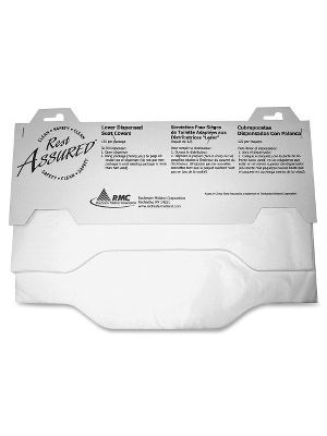 Impact Products Lever Dispensed Seat Covers - Quarter-fold - 125 / Pack - 3000 / Carton - Paper - White