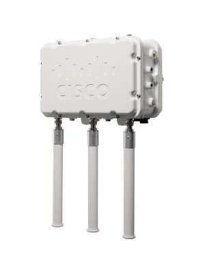 Cisco Aironet 1552H IEEE 802.11n 300 Mbit/s Wireless Access Point - ISM Band - UNII Band - 5 GHz, 2.40 GHz - 1 x Network (RJ-45) - PoE Ports - Pole-mountable