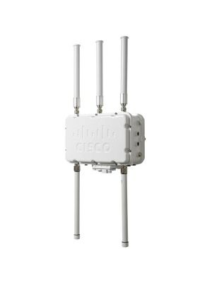 Cisco Aironet 1552S IEEE 802.11n 300 Mbit/s Wireless Access Point - 5 GHz, 2.40 GHz - 5 x External Antenna(s) - MIMO Technology - Beamforming Technology - 1 x Network (RJ-45) - Pole-mountable