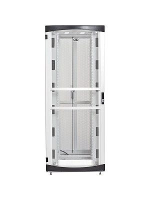 Eaton RSVNS5282W Rack Cabinet - 52U Wide for Server, Patch Panel, LAN Switch, PDU - White - Metal - 2000 lb x Dynamic/Rolling Weight Capacity - 3000 lb x Static/Stationary Weight Capacity - TAA Compliant