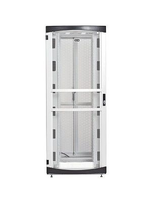 Eaton RSVNS5261B Rack Cabinet - 52U Wide for Server, Patch Panel, LAN Switch, PDU - Black - Metal - 2000 lb x Dynamic/Rolling Weight Capacity - 3000 lb x Static/Stationary Weight Capacity - TAA Compliant