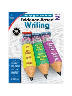 Carson-Dellosa Grade 2 Evidence-Based Writing Workbook Education Printed Book for Art - Book - 64 Pages