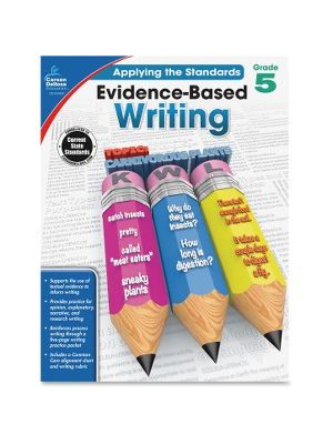 Carson-Dellosa Grade 5 Evidence-Based Writing Workbook Education Printed Book for Art - Book - 64 Pages