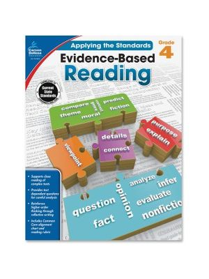 Carson-Dellosa Grade 4 Evidence-Based Reading Workbook Education Printed Book for Art - Book - 64 Pages