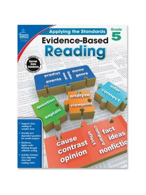 Carson-Dellosa Grade 5 Evidence-Based Reading Workbook Education Printed Book for Art - Book - 64 Pages