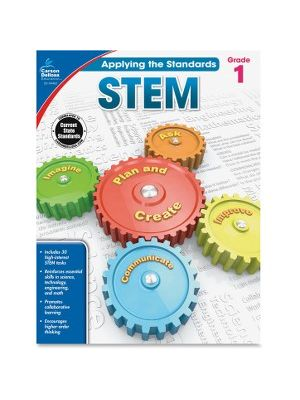 Carson-Dellosa Grade 1 Applying the Standards STEM Workbook Education Printed Book for Science - Book - 64 Pages