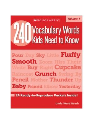 Scholastic Res. Grade 2 Vocabulary 240 Words Book Education Printed Book for Science/Social Studies by Mela Ottaiano - Book - 80 Pages
