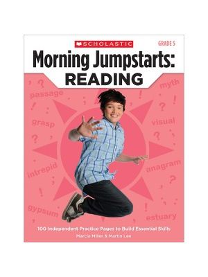 Scholastic Res. Grade 5 Jump Starts Reading Book Education Printed Book by Martin Lee, Marcia Miller - English - Book - 112 Pages