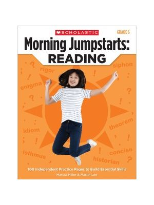 Scholastic Res. Grade 6 Jump Starts Reading Book Education Printed Book by Martin Lee, Marcia Miller - English - Book - 112 Pages