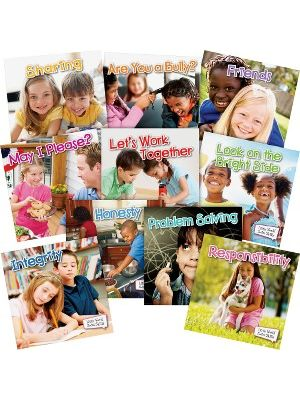 Teacher Created Resources Little World Social Skills Set Education Printed Book - Book