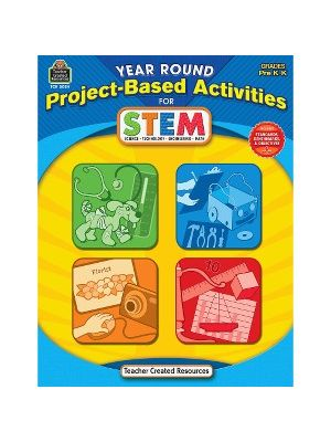 Teacher Created Resources PreK Project-based STEM Book Education Printed Book for Science/Technology/Engineering/Mathematics - Book - 112 Pages