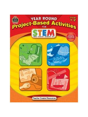 Teacher Created Resources Gr1-2 Project-based STEM Book Education Printed Book for Science/Technology/Engineering/Mathematics - Book - 112 Pages