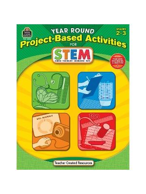 Teacher Created Resources Gr2-3 Project-based STEM Book Education Printed Book for Science/Technology/Engineering/Mathematics - Book - 112 Pages
