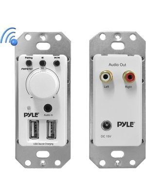 Pyle In-Wall / Wall Plate Bluetooth Amplifier - Wireless - Smartphone Compatible