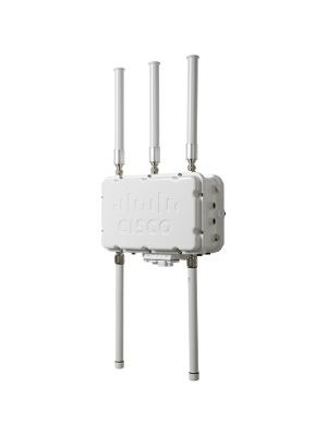 Cisco Aironet 1552S IEEE 802.11n 300 Mbit/s Wireless Access Point - ISM Band - UNII Band - 2.40 GHz, 5 GHz - MIMO Technology - Beamforming Technology - PoE Ports - Pole-mountable