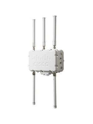 Cisco Aironet 1552S IEEE 802.11n 300 Mbit/s Wireless Access Point - 2.40 GHz, 5 GHz - MIMO Technology - Beamforming Technology - PoE Ports - Pole-mountable