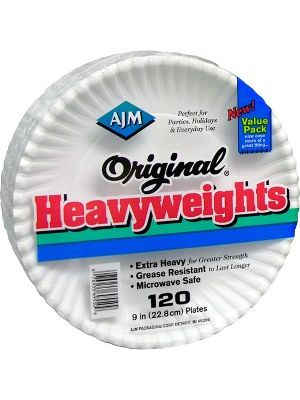 AJM Packaging Original Heavyweights Plates - 9