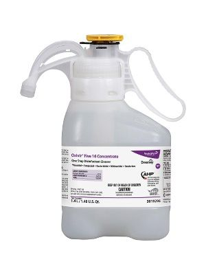 Diversey Oxivir Five 16 Disinfectant Cleaner - Concentrate Liquid - 0.37 gal (47.34 fl oz) - Characteristic Scent - 1 Each - Clear