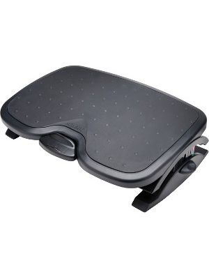 Kensington Solemate Plus Foot Rest - Black - Non-skid - 21.9