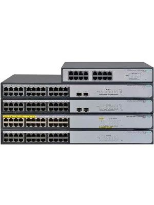 HPE 1420-16G Switch - Refurbished - 16 Network - Twisted Pair - 2 Layer Supported - 1U High - Rack-mountable, Desktop, Wall Mountable, Under Table