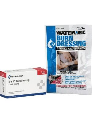 First Aid Only Water Jel Burn Dressing - 4