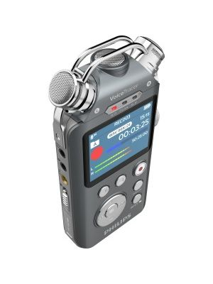 Philips Voice Tracer Audio Recorder (DVT7500) - 16 GBmicroSD, microSDHC Supported - 2