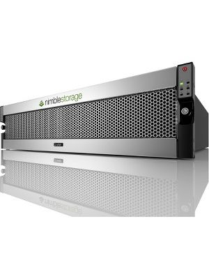 Nimble Storage CS5000 SAN Storage System - 21 x HDD Installed - 21 TB Installed HDD Capacity - 10 Gigabit Ethernet - - iSCSI - 4U